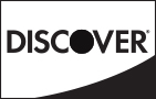 Discover® acceptance mark black